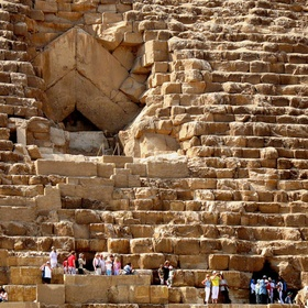 Sit on the pyramids of giza - Bucket List Ideas