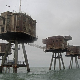Take a boat trip out to the Maunsell Sea Forts, England - Bucket List Ideas