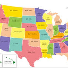 Visit every state in the USA - Bucket List Ideas