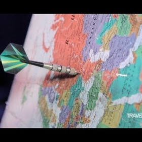Throw a dart at a map and travel to wherever it lands - Bucket List Ideas