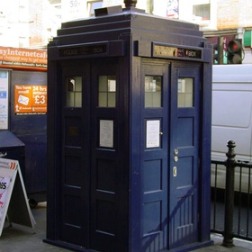 Take a picture with the blue phone box at the Earl's Court tube station in London - Bucket List Ideas