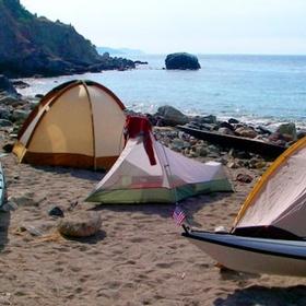 Camp on the Beach - Bucket List Ideas