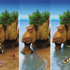 Visit the Bay of Fundy in Canada (highest tidal range in the world) - Bucket List Ideas
