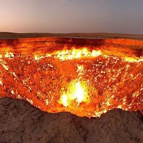 Visit The Gates of Hell, Turkmenistan - Bucket List Ideas