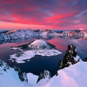 Hike Crater Lake rim - Bucket List Ideas