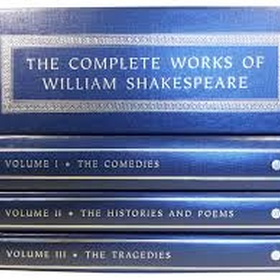 Read the complete works of Shakespeare - Bucket List Ideas
