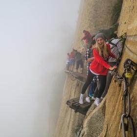Hike the Deadliest Trail in China - Bucket List Ideas