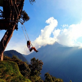 Swing at the End of the World ~Ecuador - Bucket List Ideas