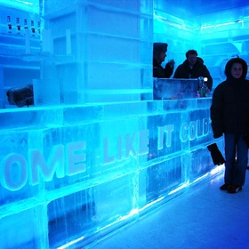 Drink at Icebar Xtracold, Amsterdam - Bucket List Ideas