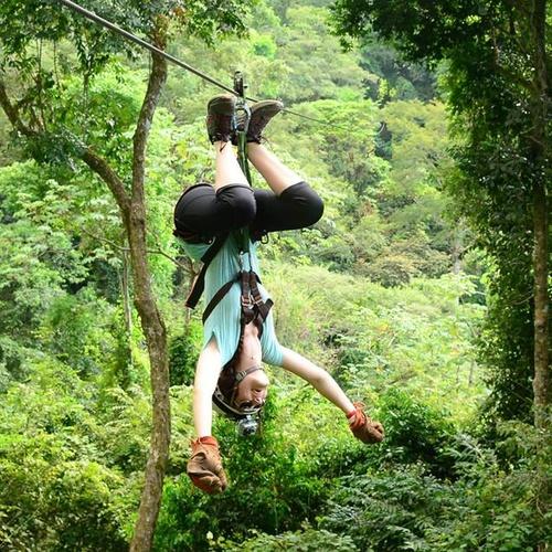 Zip Line in Costa Rica - Bucket List Ideas