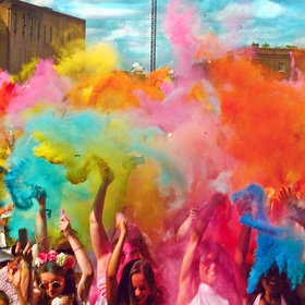 Participate in the Holi Festival - Bucket List Ideas