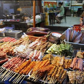 Eat chinese  street food in China - Bucket List Ideas