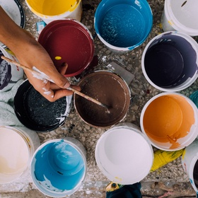 Make some artwork for our house - Bucket List Ideas