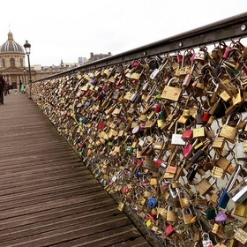 Love Lock Bridge Paris France - Bucket List Ideas