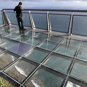 Walk on a glass floor - Bucket List Ideas