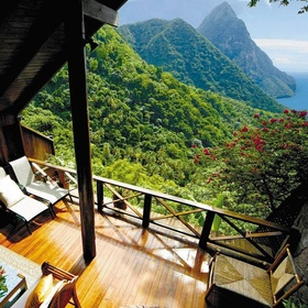 Stay at The Ladera Resort in St Lucia - Bucket List Ideas
