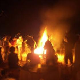 Attend a Nighttime Bonfire Ritual - Bucket List Ideas