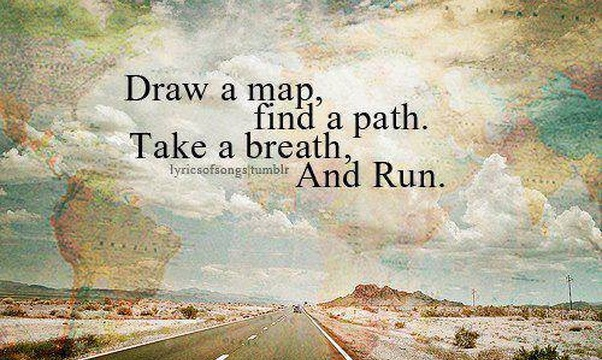 Close my eyes and point to a place on the map and just travel to it - Bucket List Ideas