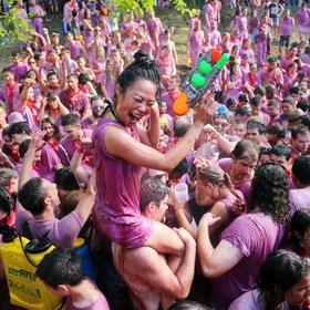 Participate in the Wine Fight Festival in Spain - Bucket List Ideas