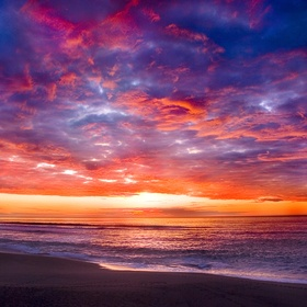 See the Sun Set Over the Pacific Ocean - Bucket List Ideas
