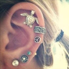 Get a new earpiercing - Bucket List Ideas