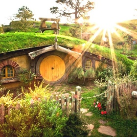Visit the Hobbit huts in New Zealand - Bucket List Ideas