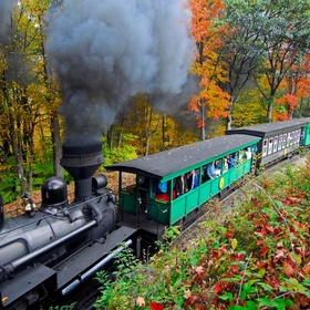 Take A Scenic Train Ride To Learn More About the History Of An Area & Its Landscape - Bucket List Ideas