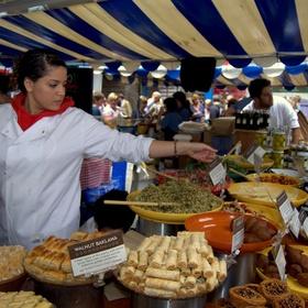 Attend a food festival - Bucket List Ideas