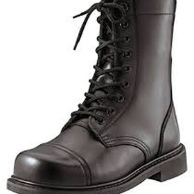 Own a pair of combat boots with a steel tip - Bucket List Ideas