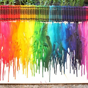 Make Crayons Melt - Bucket List Ideas