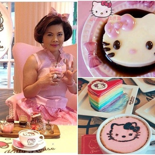 🍴 Eat at Hello Kitty House Bangkok, Thailand - Bucket List Ideas