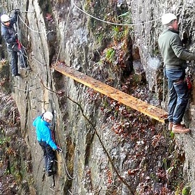 Traverse the Via ferrata - Kinlochleven Lochaber~Scotland - Bucket List Ideas