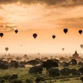 Fly in an hot air balloon - Bucket List Ideas