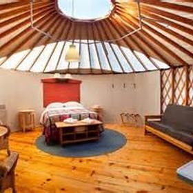 Stay in a yurt - Bucket List Ideas