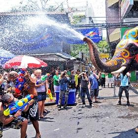 Participate in the Songkran Water Festival; Thailand - Bucket List Ideas