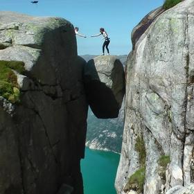 Stand on the Kjeragbolten in Norway - Bucket List Ideas