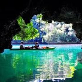 Kayak through a cave - Bucket List Ideas