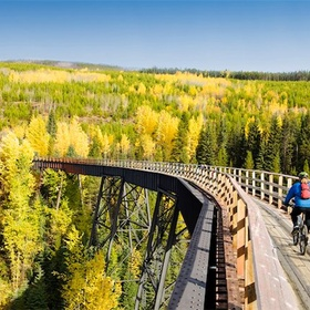 Cycle the Kettle Valley Trail - Bucket List Ideas