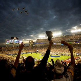 Go to a Super Bowl game - Bucket List Ideas
