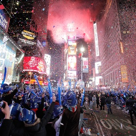 Times Square for New Year's Eve - Bucket List Ideas