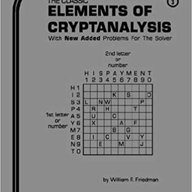 Learn Basic Cryptanalysis - Bucket List Ideas