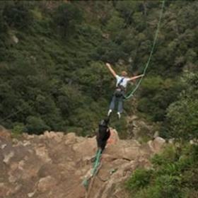 Bungee Swing Oribi Gorge bungee swing - South Africa - Bucket List Ideas