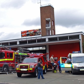 Go to a fire station open day - Bucket List Ideas