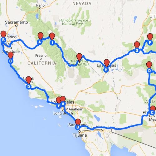 Discover West Amerika by campervan - Bucket List Ideas