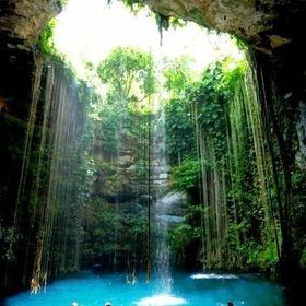 Go swimming in a waterfall - Bucket List Ideas