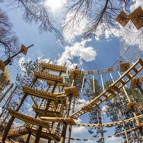 Visit an aerial adventure park - Bucket List Ideas