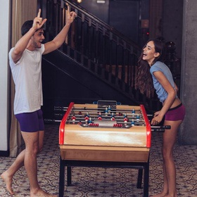 Playing foosball with my love - Bucket List Ideas