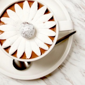 Drink a Blooming Hot Chocolate - Bucket List Ideas