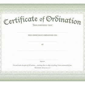 Become Ordained - Bucket List Ideas