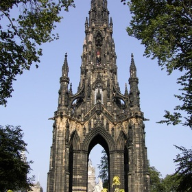 Travel to the Scott Monument - Bucket List Ideas